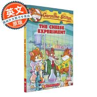 老鼠记者 英文原版 The Cheese Experiment#63 奶酪实验 Geronimo Stilton进口童