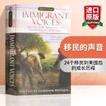 华研原版 移民的声音 英文原版 Immigrant Voices 美国梦的实现 全英文版进口书籍 英语文学小说书正版