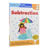 【首页抢券300-100】Kumon Math Workbooks Subtraction Grade 2 公文式教育