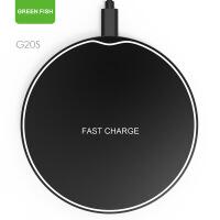 无线充电器 华为苹果手机无线充快充圆形无线充电器