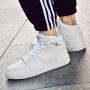 【领券立减100元】Q-AND/奇安达男板鞋2019新款男士耐磨防滑中高帮时尚潮流板鞋