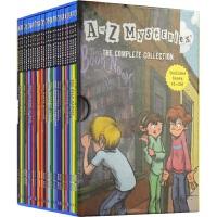 A to Z Mysteries 神秘案件26册 儿童侦探推理英语小说 桥梁书初级章节书 英文原版书进口图书