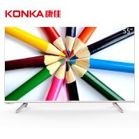 康佳(KONKA)LED55R6000U 55英寸64位4K安卓智能平板电视