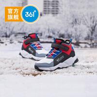 361度童鞋男童棉鞋中大童2020年冬季加绒保暖儿童运动鞋 N71942601