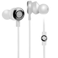 MONSTER/魔声 CLARITY HD 灵晰入耳式有线魔声耳机重低音手机耳塞耳机 - 白色