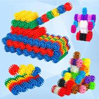 齿轮积木玩具拼装塑料拼插儿童益智力开发