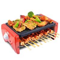 家用电烤炉烧烤炉电烤盘铁板烧烤肉机锅烤肉串