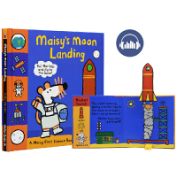 Maisy's Moon Landing maisy小鼠波波英文绘本原版 登陆月球 3D立体书翻翻书机关操作书 宝宝英