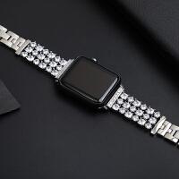 20190722182918092新款不锈钢镶钻苹果apple watch1/2/3/4表带金属42mm38配件iwa