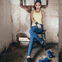韩国MONODIO正品瑜伽九分裤女夏吸汗速干紧身弹力修身显瘦提臀瘦腿运动裤 MP1047