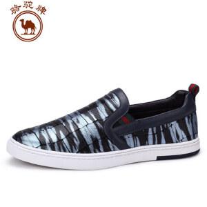 骆驼牌男鞋 夏季新品日常休闲板鞋男士低帮单鞋子