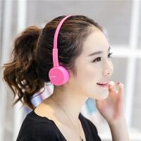 手机耳机 头戴式电脑带话筒音乐重低音线控通话歌降噪