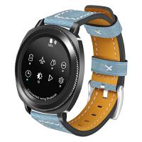 三星galaxy watch表带智能手表gear s3/S2/sport s4替换带真 三星gear s2表带