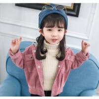 女童秋冬装外套女宝宝小女孩衣服洋气潮