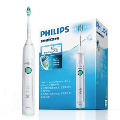 飞利浦(PHILIPS) 电动牙刷 成人声波震动牙刷(自带刷头*1) HX6730/02