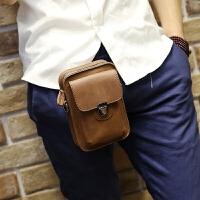 男士腰包男包 手机包韩版男士腰包小包户外休闲迷你挂包烟包