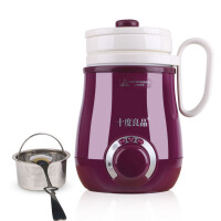 家用便携养生壶电热养生杯加热保温 陶瓷电炖煮粥杯