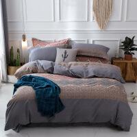 20191105205754462全棉磨毛四件套1.82.2纯棉床单床上用品180220北欧风