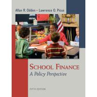 【预订】School Finance: A Policy Perspective