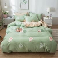 纯棉四件套全棉纯棉床上用品家用双人1.5m/1.8米被套床单网红款床上用品
