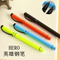 英雄钢笔 6166炫彩铱金钢笔 特细钢笔 6160暗尖钢笔 学生办公钢笔