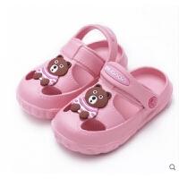 2019年夏季新品�和��鐾闲�1-3�q2�����鲂�水果洞洞鞋�敉饴眯猩�┬�室�扰��胗啄熊�底包�^�鲂�公主鞋