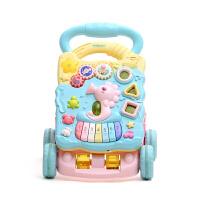 宝宝学步车手推车玩具婴幼儿童防侧翻调速助步车