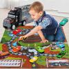 育儿宝 货柜车 合金车大车运输车仿真男孩女孩幼儿宝宝3岁以上车辆模型可收纳儿童玩具用品