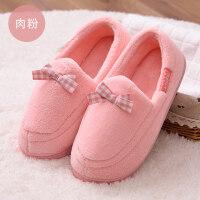 夏季薄款棉拖鞋透气产后平底月子鞋室内包跟软底情侣拖鞋