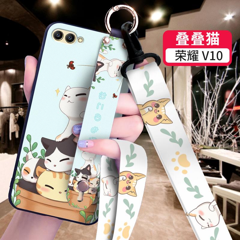 华为荣耀10手机壳女硅胶荣耀20保护荣耀v10手机套荣耀8x创意v20薄