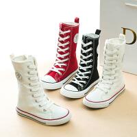 儿童帆布鞋童女童鞋板鞋宝宝休闲鞋布鞋