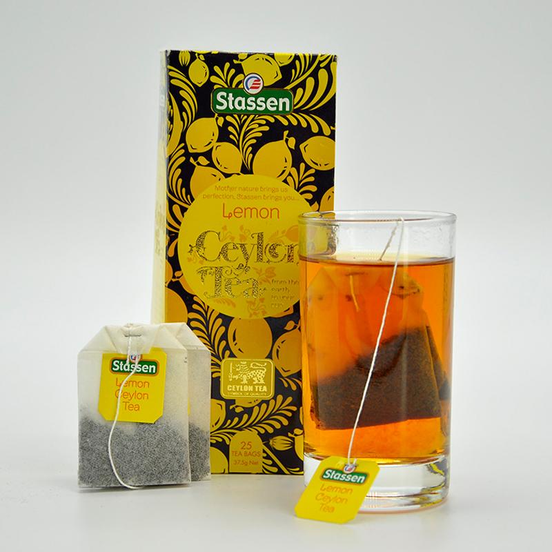 司迪生 柠檬香茶 1.5g*25茶包/盒 斯里兰卡锡兰红茶袋泡茶