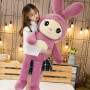 兔子毛绒玩具睡觉抱枕公仔大女生床上布娃娃可爱萌情人节礼物玩偶
