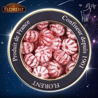 费罗伦 白羊星座糖 法国进口水果糖果Florent费罗伦覆盆子糖球喜糖果220g