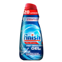 Finish光亮碗碟洗碗机专用洗涤液1L 美的方太洗碗液海尔西门子碗碟洗涤剂