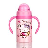 LOCK&LOCK/乐扣乐扣 HELLO KITTY儿童可爱款吸管杯保温杯 300ml粉色 HKT653