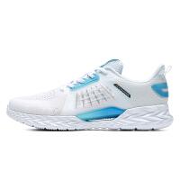 【超品预估价:129】361度男鞋运动鞋男士跑步鞋2020年秋季新款网面透气网鞋休闲鞋健步鞋训练慢跑鞋