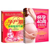 怀孕40周全程指导 孕产期全程指导方案(升级版)共2册套装 怀孕书籍 备孕书籍 准备怀孕 孕期书籍 孕妇书籍 准妈妈*