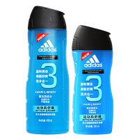 阿迪达斯 运动后舒缓洗沐合一400ml+送250ml运动后舒缓洗沐合一