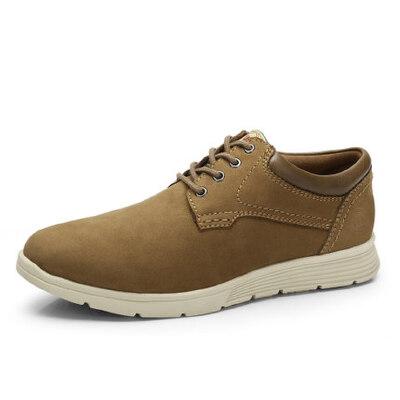 骆驼牌男鞋  秋季新品头层牛皮户外大休闲男鞋舒适伐木鞋