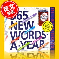 现货 2020年日历 每天一个新单词 一天一页 英文原版 365 New Words-A-Year Page-A-Day Calendar 2020