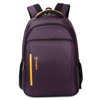 thinkpad联想T450黑侠E570黑将S5笔记本15.6寸14电脑包双肩背包女 紫色 +防震防水