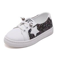 童鞋小白鞋百搭韩版儿童鞋浅口小女孩软底板鞋