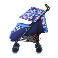 呵宝 婴儿推车可躺可坐超轻便携宝宝车避震手推车bb车童车