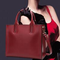手提包女款手拎包大包包女新品秋冬女包时尚简约百搭单肩斜挎牛皮手提包