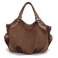 帆布包女包休闲包手提包单肩包斜跨包女式包时尚大包包潮