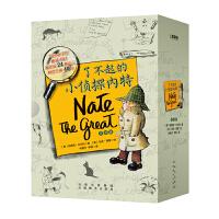 了不起的小侦探内特全套8册儿童中英文绘本双语原版3-6-12周岁小学生一二年级英语分级阅读物三年级四五课外书双语老师有声