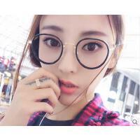 女眼镜架 户外新款女士学生眼镜架 超轻韩国韩版时尚文艺眼镜框潮复古圆脸