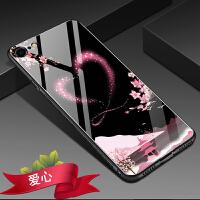 苹果7手机壳新款玻璃iphone7保护套i7女款ipone7男全包小七4.7寸