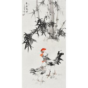 河南省书画家协会会员康一生四尺整张花鸟画gh01138